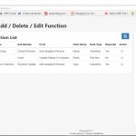 Add Delete Edit Function